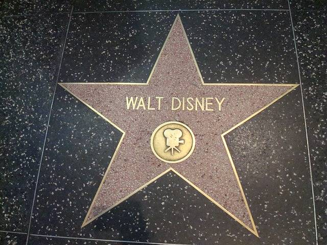 Star Walt Disney Hollywood Walk Of - Free photo on Pixabay (318436)