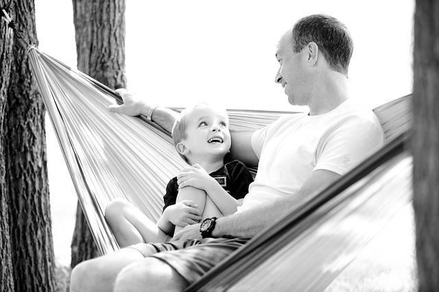 Father Son Hammock - Free photo on Pixabay (318494)