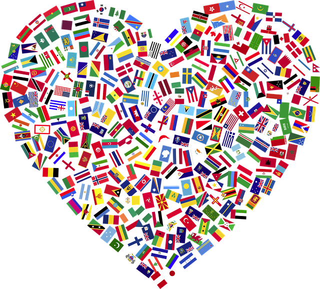 Heart Flags Countries - Free vector graphic on Pixabay (318525)