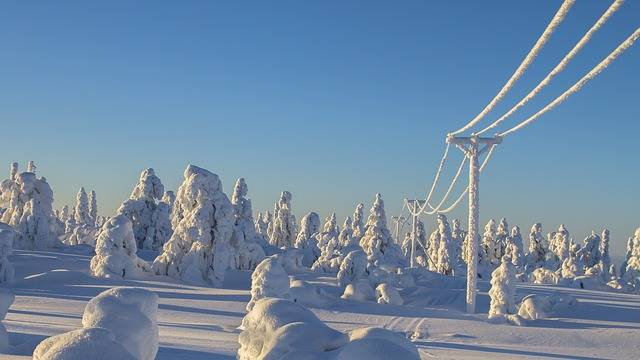 Lapland Winter Snow - Free photo on Pixabay (318540)