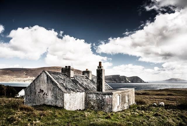 Hut Ruin Ireland - Free photo on Pixabay (318780)