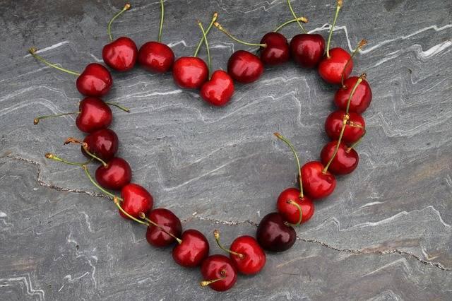 Cherries Heart Red - Free photo on Pixabay (319410)