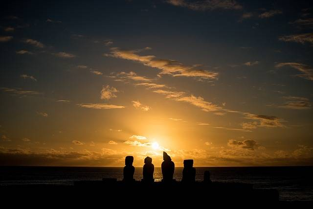 Easter Island Chile Statues - Free photo on Pixabay (321320)