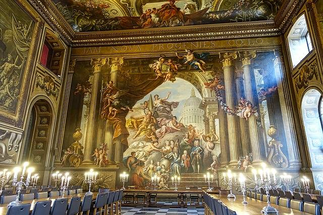 Hall Painted Greenwich - Free photo on Pixabay (322007)