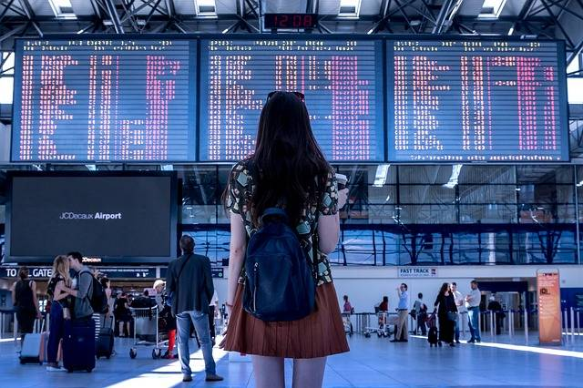 Airport Transport Woman - Free photo on Pixabay (322210)