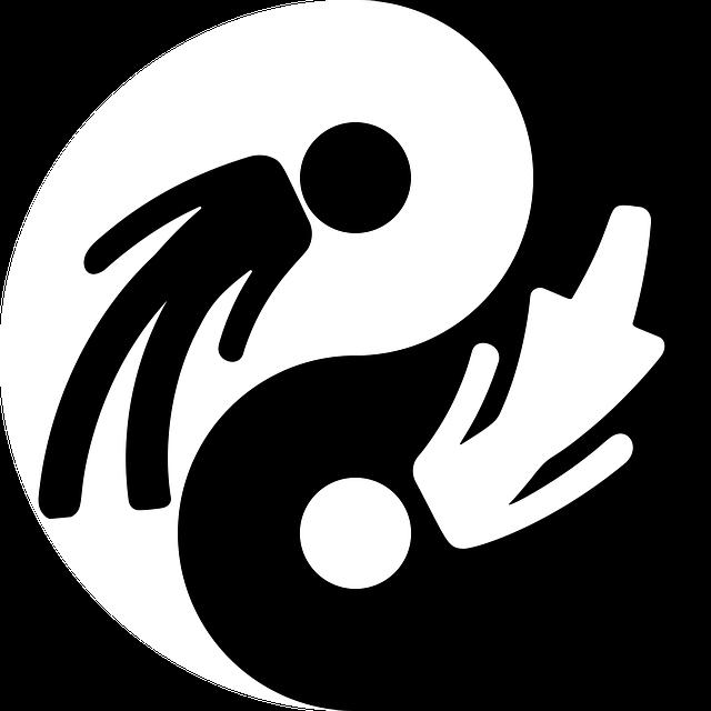 Yin Yang Emblem - Free vector graphic on Pixabay (322789)