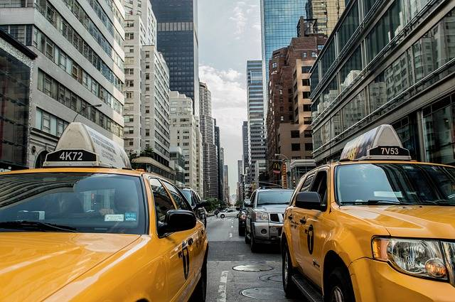 Taxi Cab Traffic New - Free photo on Pixabay (325143)