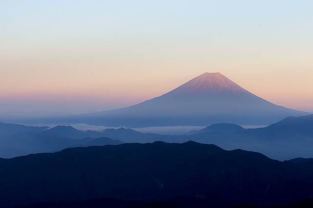 Mt Fuji Japan View From Kitadake - Free photo on Pixabay (325210)