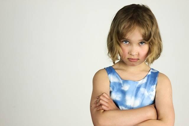 Child The Little Girl Anger Bad - Free photo on Pixabay (325480)