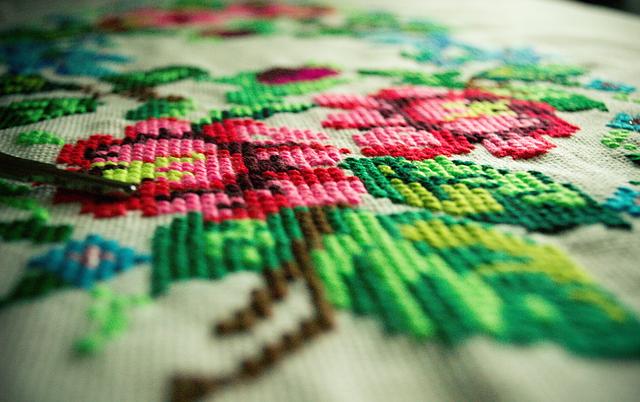 Embroidery Flowers Handmade - Free photo on Pixabay (325764)