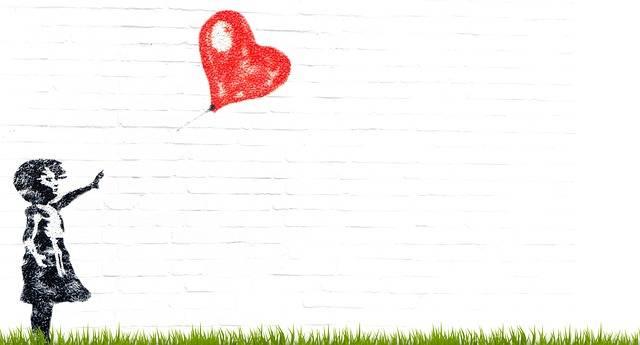 Girl Balloon Composing - Free photo on Pixabay (327450)