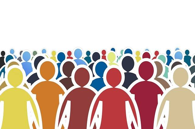 Crowd Human Silhouettes - Free image on Pixabay (328131)