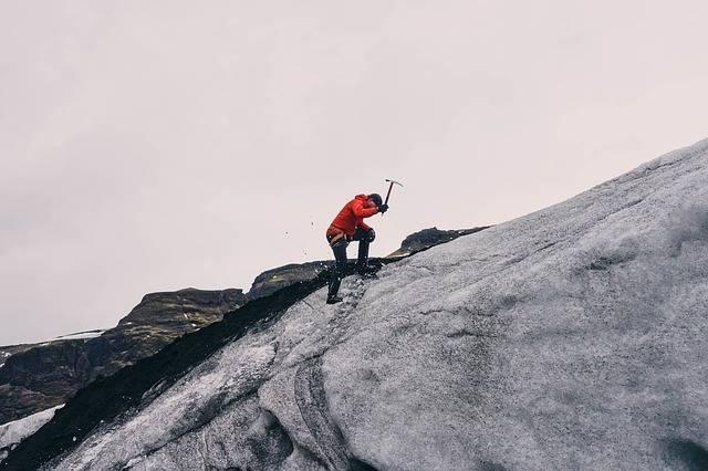 Mountain Climbing Mountaineer Ice - Free photo on Pixabay (328239)