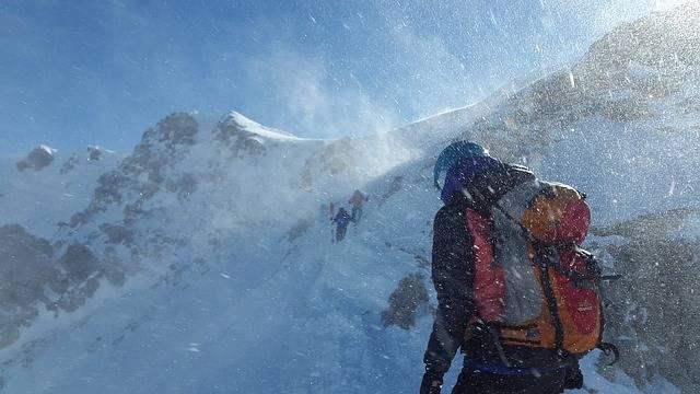 Mountaineer Forward Blizzard - Free photo on Pixabay (328241)