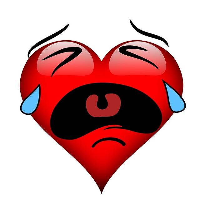 Heart Burst Into Tears - Free image on Pixabay (332616)