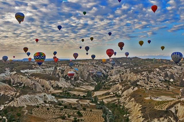 Cappadocia Travel Turkey Hot Air - Free photo on Pixabay (333049)