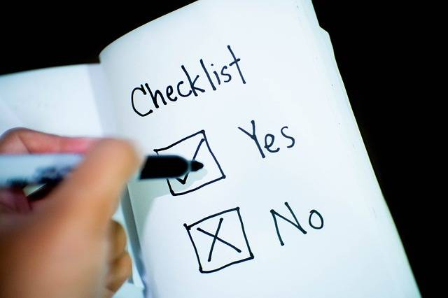 Checklist Check Yes Or No Decision - Free photo on Pixabay (333285)