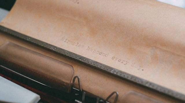 Typewriter Typing Type - Free photo on Pixabay (333605)