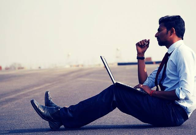 Man Work Think - Free photo on Pixabay (336057)