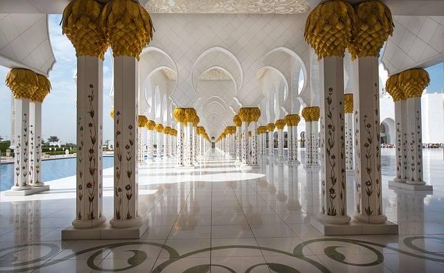 Mosque Abu Dhabi Travel - Free photo on Pixabay (336061)