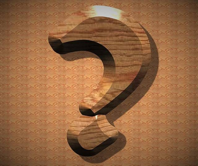 Question Mark Wood Icon - Free image on Pixabay (337005)
