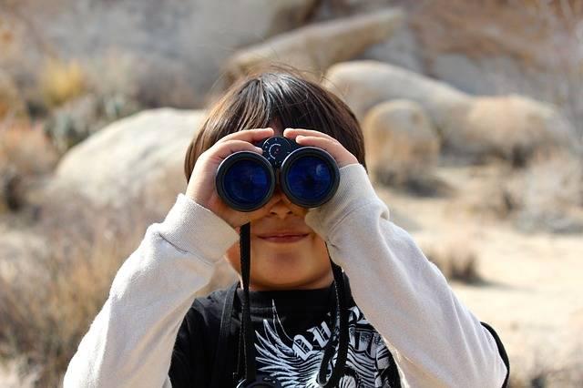 Binoculars Child Magnification - Free photo on Pixabay (337839)