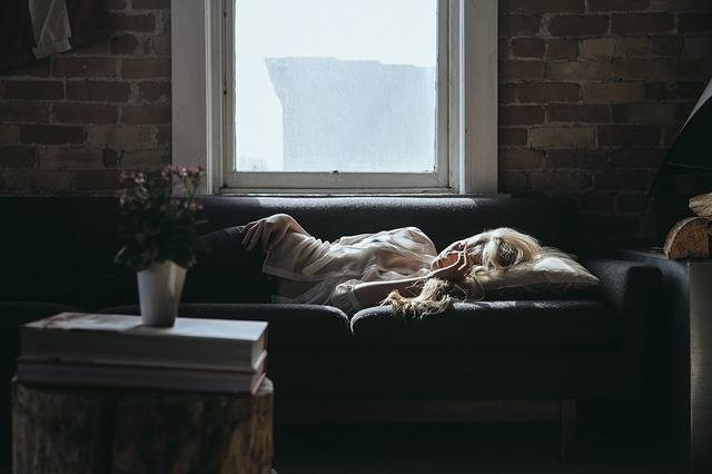 Woman Sleeping Sofa - Free photo on Pixabay (338497)