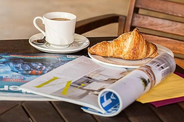 Magazine Coffee Break Cup - Free photo on Pixabay (338657)