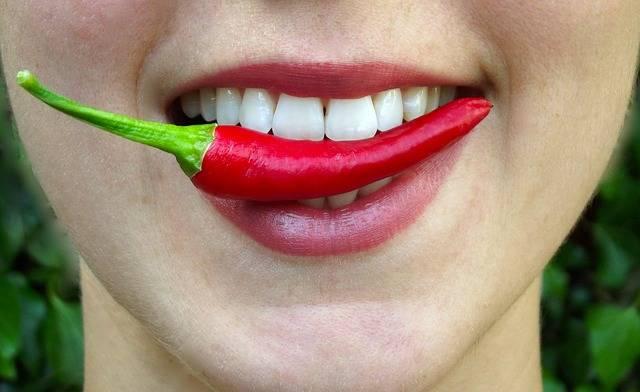 Chilli Bite Hot - Free photo on Pixabay (340587)