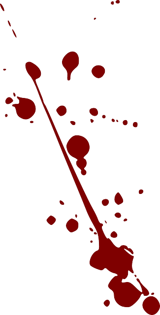 Splatter Blood Drops - Free vector graphic on Pixabay (340630)