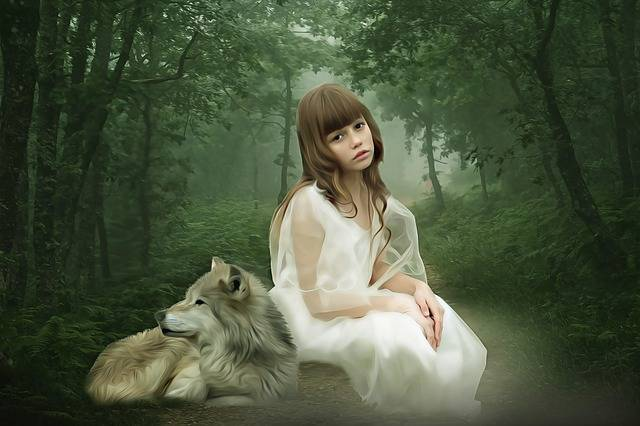 Fantasy Portrait Girl - Free image on Pixabay (341880)