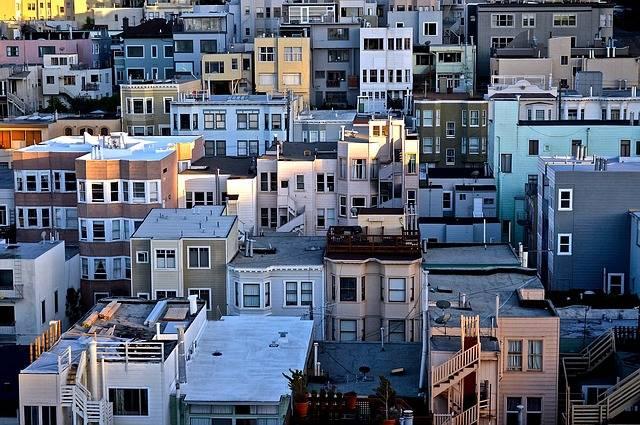 Houses Urban Residential Area - Free photo on Pixabay (342392)
