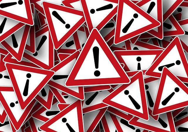 Road Sign Attention Right Of Way - Free image on Pixabay (345168)