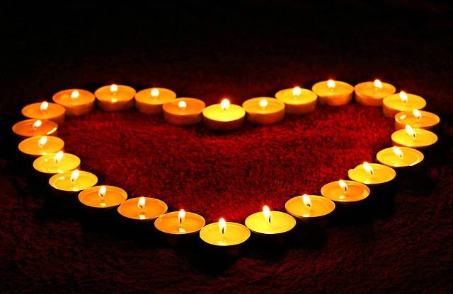 Candles Heart Flame - Free photo on Pixabay (345625)