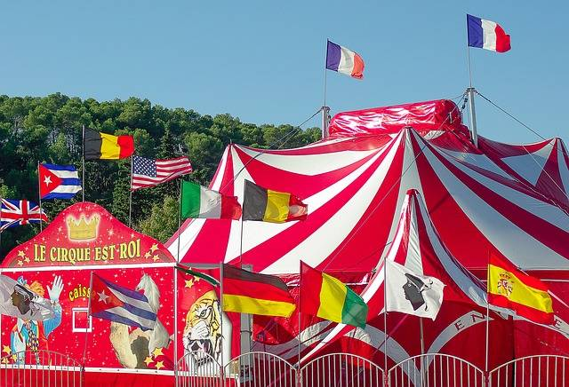 Circus Marquee Tent - Free photo on Pixabay (347802)