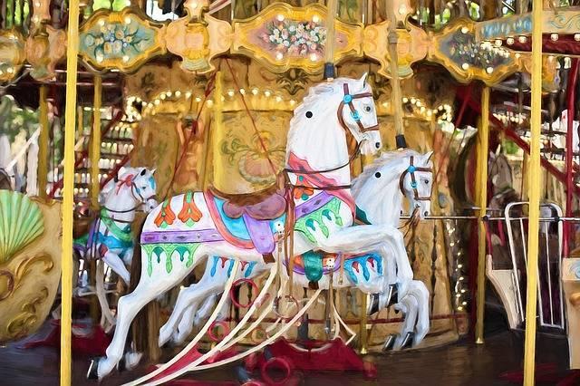 Carousel Horses Horse - Free image on Pixabay (347831)