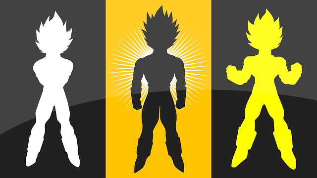 Dragon Ball Silhouettes Anime - Free vector graphic on Pixabay (348037)