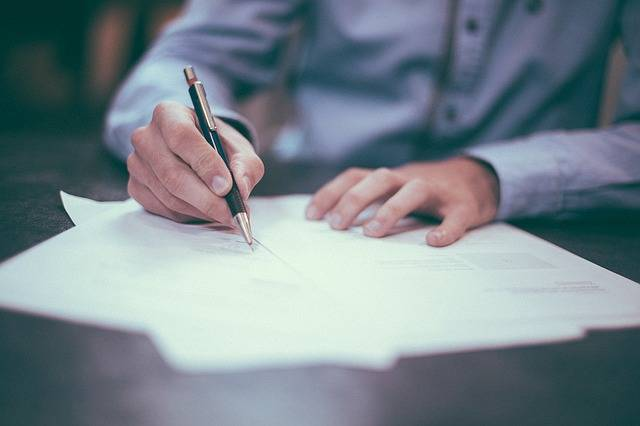 Writing Pen Man - Free photo on Pixabay (348356)