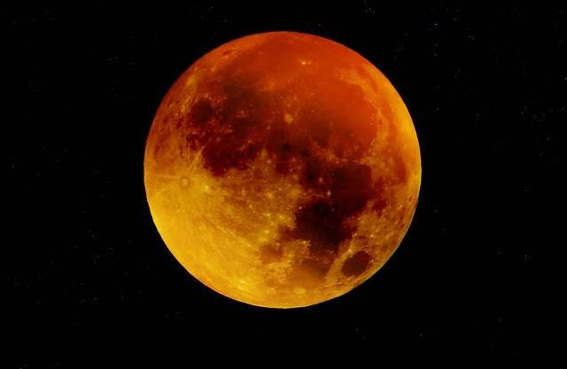 Moon Blood Full - Free photo on Pixabay (348787)