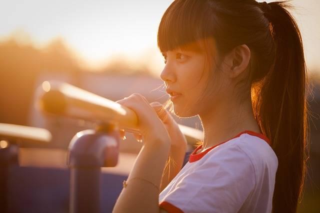 Portrait Girl Asian - Free photo on Pixabay (349007)