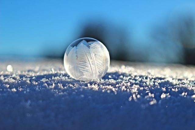 Soap Bubble Eiskristalle - Free photo on Pixabay (350173)