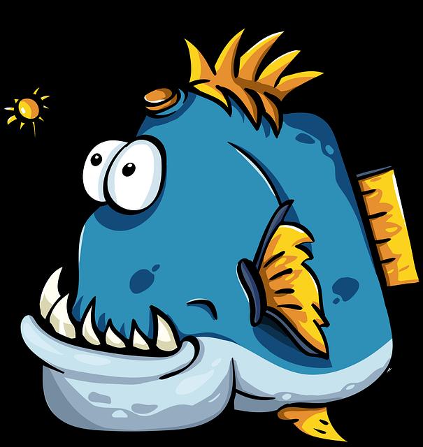 Fish An Angler Cartoon - Free vector graphic on Pixabay (350714)