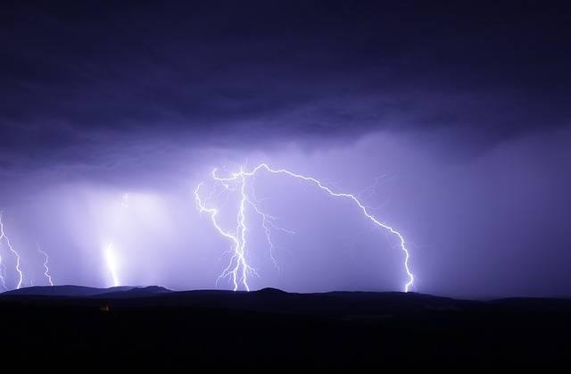 Flash Thunderstorm Ore Mountains - Free photo on Pixabay (350822)