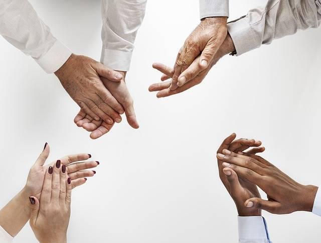Hand Human Partnership - Free photo on Pixabay (351117)