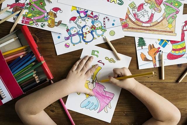 Kids Painting School - Free photo on Pixabay (352031)