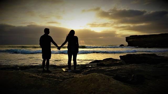 Pair Love Sunset - Free photo on Pixabay (352156)