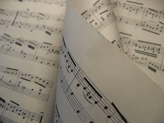 Sheet Music Melody - Free photo on Pixabay (352900)