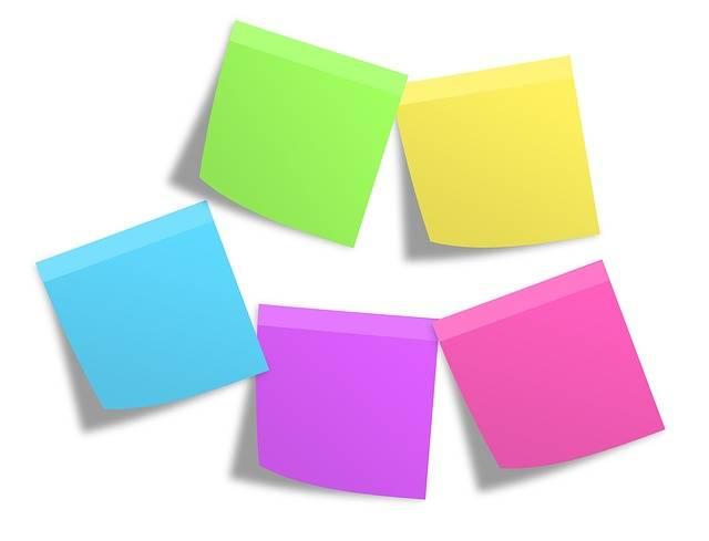 Postit Memos Notes - Free photo on Pixabay (355752)
