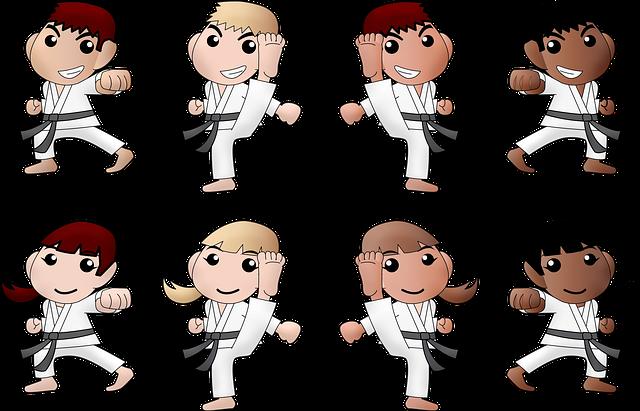 Karate Boy Girl Black - Free image on Pixabay (356091)