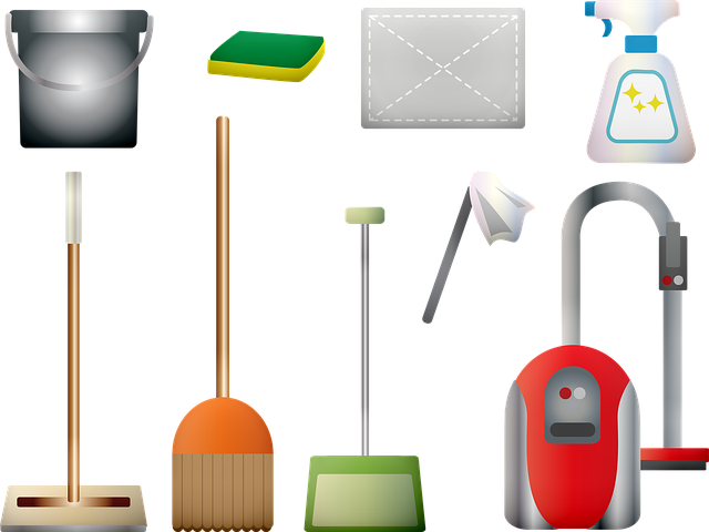 Cleaning Supplies Vacuum Broom - Free image on Pixabay (356135)